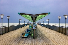 Pier before the storm