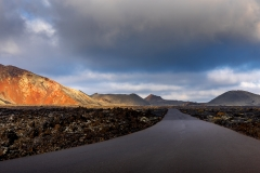The road to Timanfaya