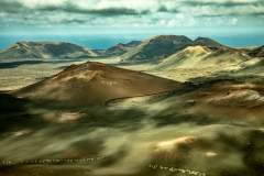 Assorted colours of Timanfaya
