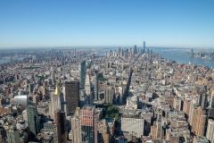 Empire State Building View to Statue of Liberty 2