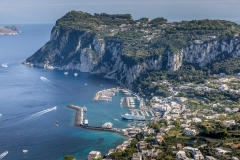 View over Capri